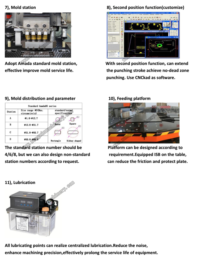 Buy Mechanical Multiple Hole Punch Press Machine With CNC Feeder
